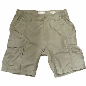 Coleman Olive Green Hiking Shorts